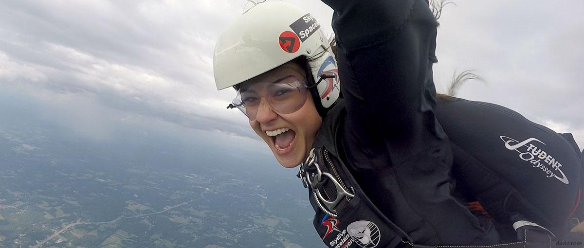 Slider Skydiver Training Program Nati